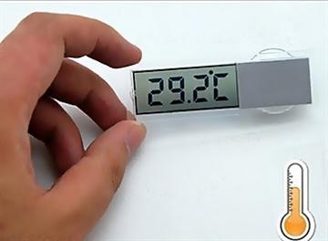 Trådløs termometer til bil
